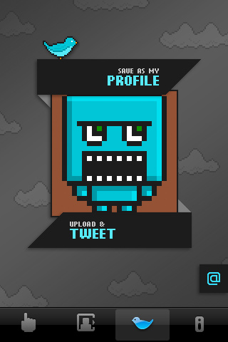 BlockHead twitter screen